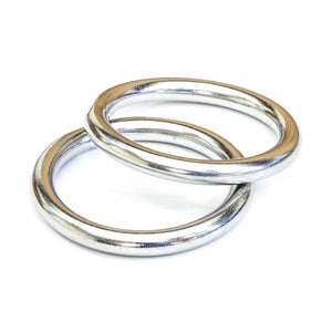 Tigress 316 Stainless Steel Rings - Pair [88660]