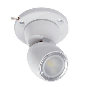 Lumitec GAI2 White Dimming, Blue/Red Non-Dimming - Heavy-Duty Base w/Built-In Switch - White Housing [111928]