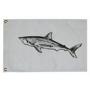 "Taylor Made 12"" x 18"" Shark Flag [3218]"