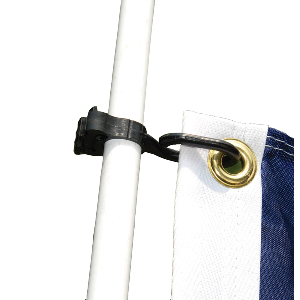 Taylor Made Charlevoix Burgee and Antenna Cli (Pair) [57925]