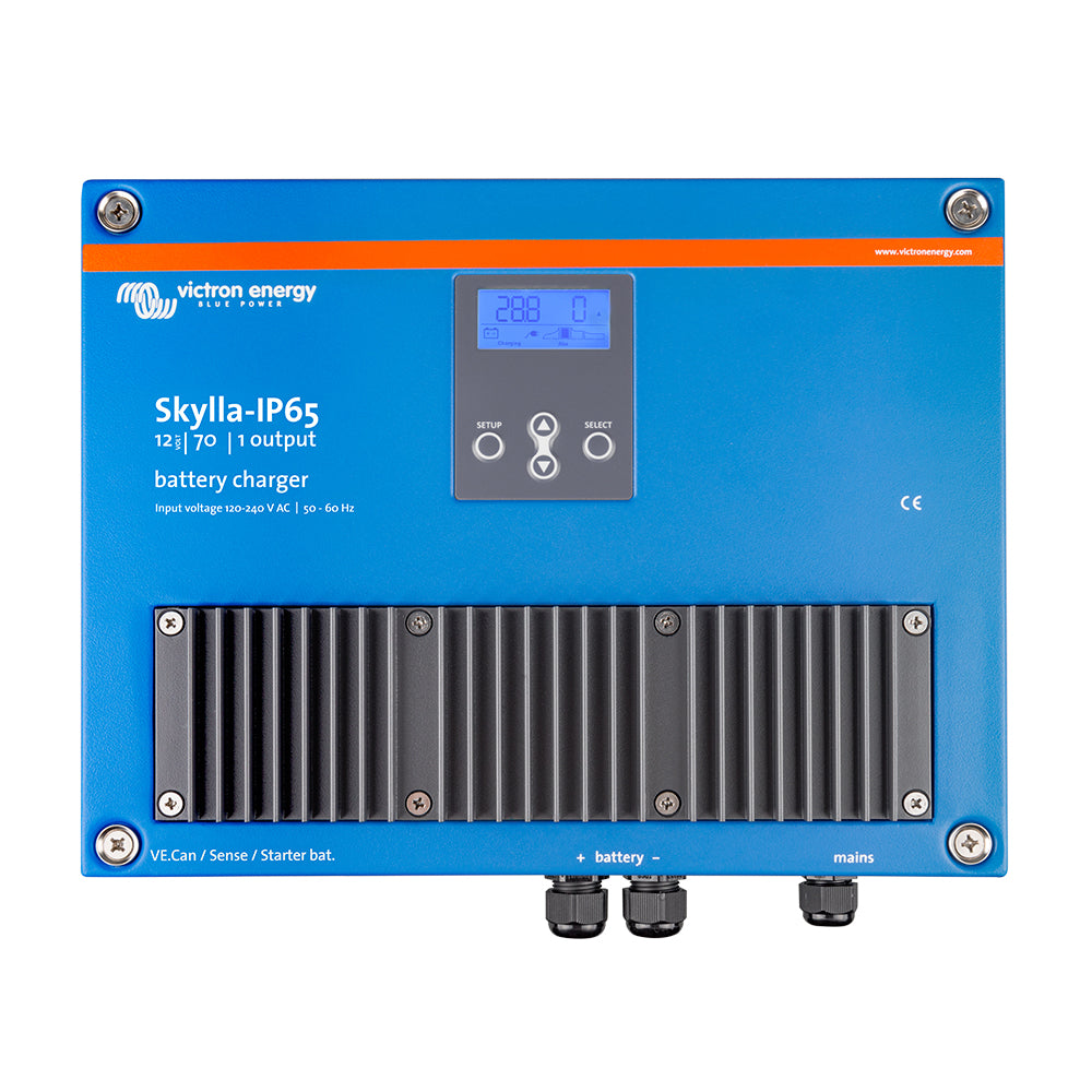 Victron Skylla-IP65 12/70 1+1 120-240VAC Battery Charger [SKY012070000]