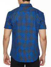 Load image into Gallery viewer, Men's Printed Short-Sleeves Button-Down Shirt