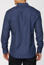 Load image into Gallery viewer, Men's Printed Long-Sleeves Button-Down Dress Shirt