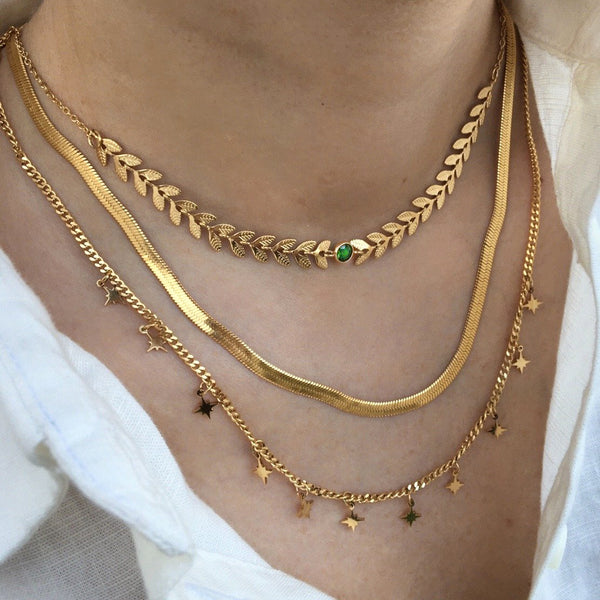 Collana Snake Gold - Laei Shop