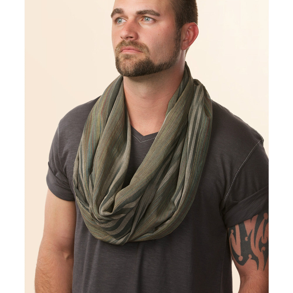 mens chunky anvi design fashion cowl knit winter tube gift neck infinity button product women warmer leo scarf