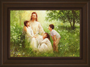 Christ with Asian Children by Yongsung Kim