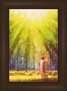 The Light of His Love by Yongsung Kim