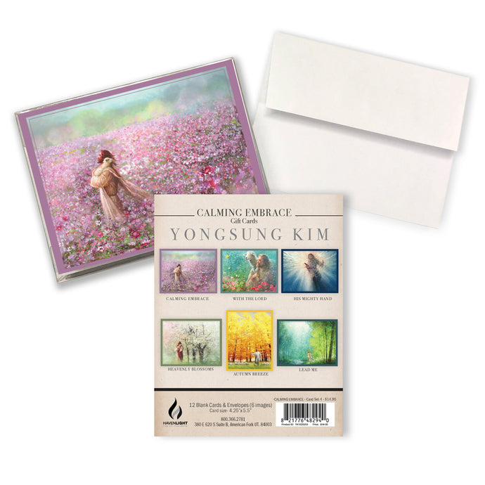 Calming Embrace Gift Card Set 4 - Yongsung Kim