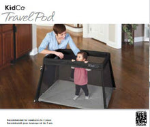 Load image into Gallery viewer, TR3001 TravelPod Portable Play Yard - Midnight