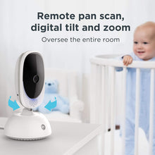 Load image into Gallery viewer, Comfort75 Video Baby Monitor - Infant Wireless Camera with Remote Pan, Digital Zoom, Temperature Sensor - 5 Inch LCD Color Screen Display with Two-Way Intercom, Night Vision - 1000ft Range