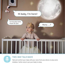 Load image into Gallery viewer, Baby Monitor with True Crying Detection (Turquoise) - Smart WiFi Baby Camera