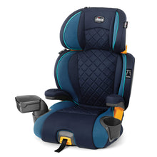 Load image into Gallery viewer, KidFit Zip Plus 2-in-1 Belt Positioning Booster Car Seat - Seascape, Blue