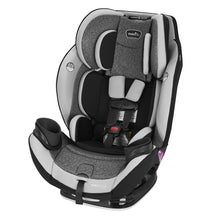 Load image into Gallery viewer, EveryStage DLX All-in-One Car Seat, Kids' Rear-Facing Seat, Convertible & Booster Seat, Grows with Child Up to 120 lbs, Angled for Comfort & Safety, 3-Times-Tighter Installation, Canyons Gray