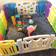 Load image into Gallery viewer, Baby Playpen Kids Activity Centre Safety Play Yard Home Indoor Outdoor New Pen (multicolour, Classic set 14 panel)