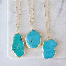 Load image into Gallery viewer, Blue Howlite Necklace