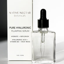Load image into Gallery viewer, Pure Hyaluronic Plumping Serum