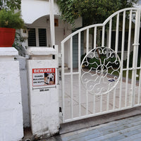 Beware of Guard Dog Bull Dog on Duty Sign Board for walls ,doors and Gates