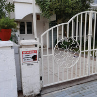Beware of Guard Dog Rottweiler on Duty Sign Board for walls ,doors and Gates