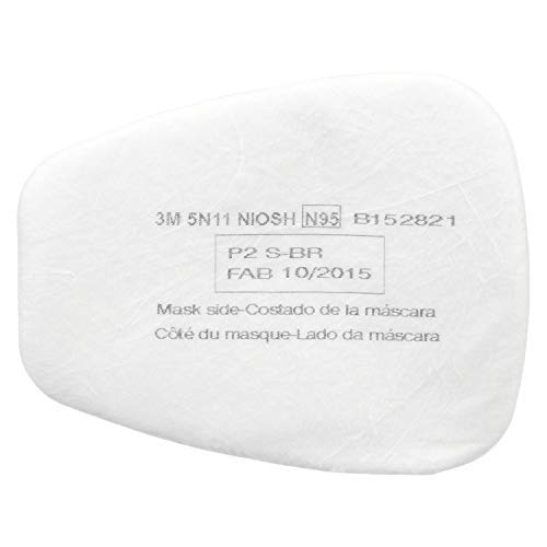 3M 5N11 N95 Filter pads Pack of 10