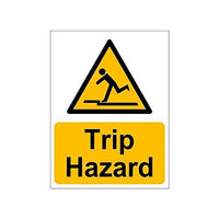 Trip Hazard Mind your step Sign Board For walls and Doors