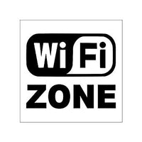 WIFI ZONE Sign Board for Walls and Doors