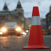 Road Saftey Traffic Cone (Orange)