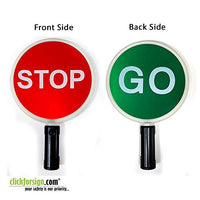 Stop Go Baton with Red and Green light indicator