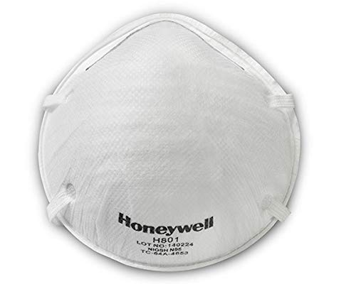 Honeywell H801 N95 Anti-pollution 2.5PM Cup Masks - White