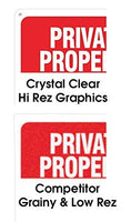 No Photography Self Adhesive Vinyl Sticker, 200 x 150 mm