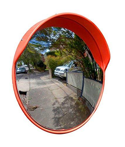 Traffic road safety Convex Mirror (Orange)