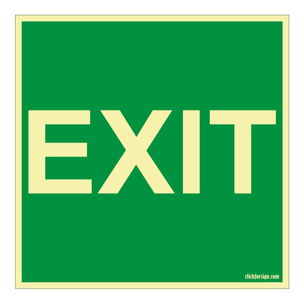 Emergency Exit Sign Board