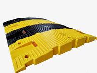 Road Bump Safety Speed Breaker ABS Yellow Black 1 Metre