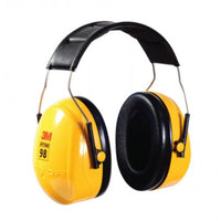 3M EP3M-H9A PELTOR Optime 98, H9A Over-the-Head Earmuffs, Yellow, Pack of 1