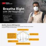 3M 9010 N95 Disposable PM2.5 Anti Pollution Respirator Mask