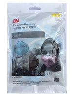3M 9003INP Anti-Pollution and Dust Mask (Pink) - Pack of 5