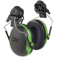 3M Peltor X1P3 Black and Green Earmuffs 21 Db