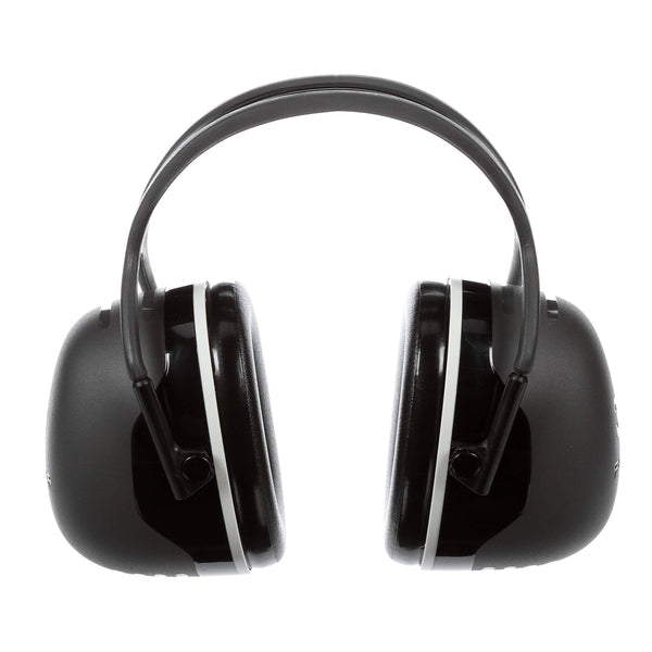 3M Peltor X5A X-Series Over-the-Head Earmuffs, Black, Pack of 1