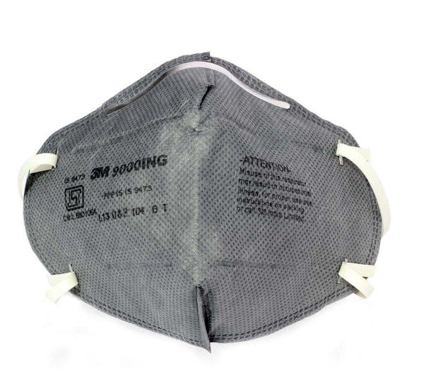 3M 9000ING Antipollution Riding Respirator pack of 100