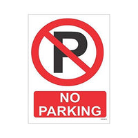 No Parking Sign Board (200x150 mm)