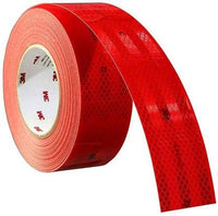 3M High Intensity Prismatic Grade Conspicuity Reflective Tape ECE compliant RED