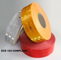 3m High Intensity Reflective ECE 104 Compliant White, Red and Yellow 3 tapes or Rolls