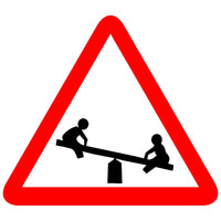 Reflective Playground Ahead Traffic Cautionary Warning Sign Board