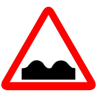 Reflective Rough Road Traffic Cautionary Warning Sign Board
