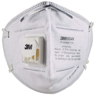 3M 9004V Valved Anti pollution  Respirator P1 Class Mask
