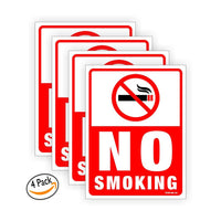 No Smoking sign board for walls and doors