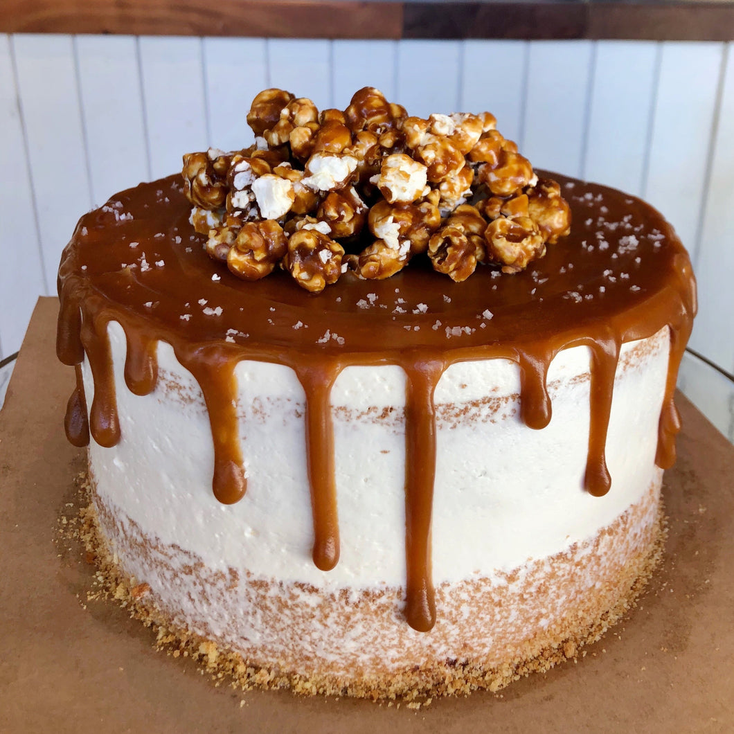 Caramel Drip Cake (Made to Order - 48hrs)