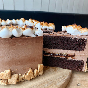 S'mores Cake (Made to Order - 48hrs)