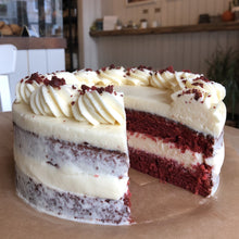 Load image into Gallery viewer, Red Velvet Cake (Made to Order - 48hrs)