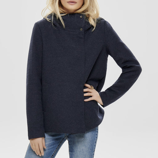 Plašč s kapuco Maddie Light Hooded Coat