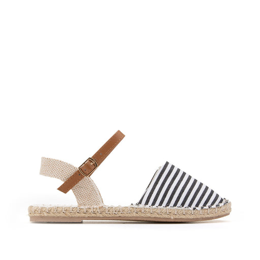 Striped canvas espadrilles 26–39